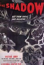 THE SHADOW Movie POSTER 27x40 Victor Jory Veda Ann Borg Roger Moore Robert Fisk