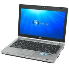 HP 2560P LAPTOP WINDOWS 7 PRO INTEL CORE i5 4GB 250GB WEBCAM 12""