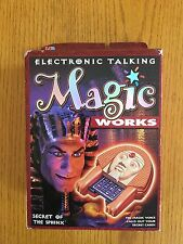 Electronic Talking Magic Works - Secret Of The Sphinx - BRAND NEW