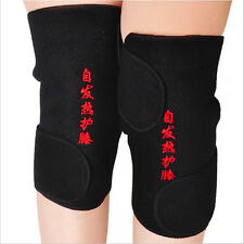 2Pcs Knee Brace Support Spontaneous Heating Protection Magnetic Therapy