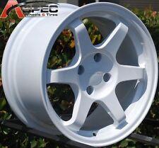 15X8 VarrStoen Wheels 4X114.3 RIMS ET15 AGGRESSIVE FITS 4 LUG TIBURON ACCENT