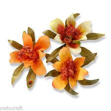 Sizzix Thinlits SUSANS GARDEN Cutting Dies Set of 3 FLOWER, MINI LILY 658408