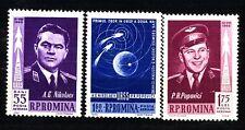 ROMANIA - 1962 - Primo volo spaziale in gruppo.