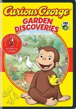 Curious George: Garden Discoveries (2016, REGION 1 DVD New)