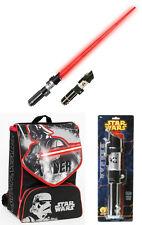 Star Wars Zaino Scuola Spada Laser Giochi Preziosi Movie Guerre Stellari Saber