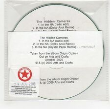 (GG595) The Hidden Cameras, In The NA - 2009 DJ CD