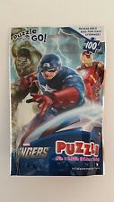 NEW MARVEL AVENGERS PUZZLE ON THE GO 100 PIECES