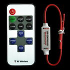 12V RF Wireless Remote Switch Controller Dimmer for Mini LED Strip Light New H6