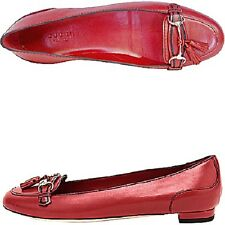 Shoes Ballerine Gucci autentiche pelle rosso ballet flats red leather 39 uk 6