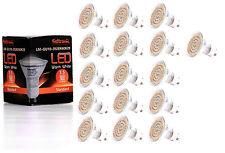 16X GU10 LED Lampe von Seitronic mit 3,5 Watt, 300LM und 60 LEDs Warm weiß 2900K