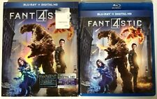FANTASTIC FOUR 2015 BLU RAY WITH SLIPCOVER SLEEVE FREE WORLDWIDE SHIPPING