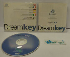 Gioco Game Console Play SEGA DREAMCAST Utility Internet CD DREAM KEY VERSION 1.5