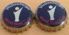 2x Kronkorken Weltenburger Klosterbrauerei World Beer Cup - Crown/Bottle caps