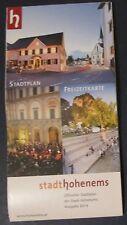 Stadtplan Hohenems mit Freizeitkarte Vorarlberg Österreich Maßstab 1 : 8 500