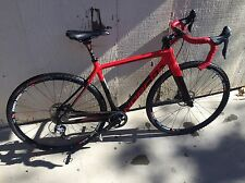 Norco Threshold SL Ultegra Carbon CX gravel 50.5cm small Red Shimano Stans Bike