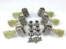 Schaller Nickel 3+3 Deluxe Tuners for Gibson®/Epiphone® Guitar TK-0771-001