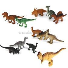 12pcs Kunststoff Dinosaurier Figur Tyrannosaurus Kinderspielzeug