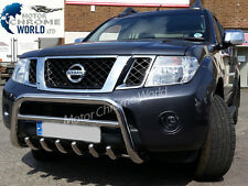NISSAN NAVARA PATHFINDER D40 BULL BAR CHROME AXLE NUDGE A-BAR 2010+Up, ON OFFER