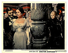 DR ZHIVAGO 1965 Omar Sharif Julie Christie JELOUS SCENE   original UK lobby card