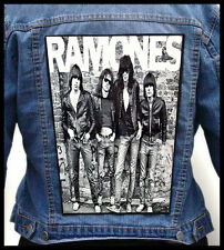 RAMONES  --- Giant Backpatch Back Patch / Sex Pistols The Clash Misfits The Who