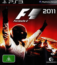 FORMULA 1 - 2011 - PlayStation Game PS3