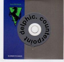 (EL350) Delphic, Counterpoint - 2009 DJ CD