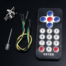 New Infrared IR Receiver Module Wireless Remote Control Kit For Arduino 1x