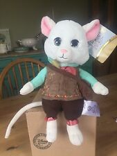 Disney Store Dormouse bnwt soft plush toy Alice In Wonderland movie Underland