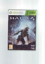 Halo 4-Microsoft XBOX 360 fps SPARATUTTO GIOCO-Veloce Post-COMPLETO