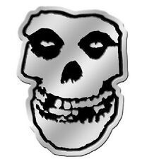 "(#117) SMALL Metallic MISFITS SKULL 1.5"" x 2"" sticker (1134)"