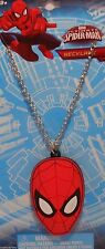 """Necklace Marvel SPIDER-MAN 16"""" Chain Jewelry S1"""