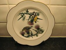 BIRD    PLATE -   AMERICAN GOLDFINCH      - ROYAL WORCESTER