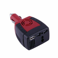 New 150W Car Power Inverter Charger Adapter 12V DC To 110V AC USB 5V EA