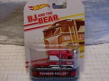 '15 Hot Wheels RETRO ENTERTAINMENT Thunder Roller BJ and the BEAR red/white SEMI
