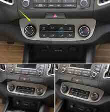 Stainless Indoor Middle Console frame Cover Trim for Kia Sportage R 2011-2015