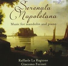GIACOMO LA RAGIONE - SERENATA NAPOLETANA-MUSIC FOR MANDOLIN AND PIANO CD NEU