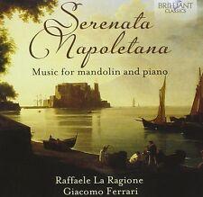 Giacomo la ragione-SERENATA NAPOLETANA-Music for Mandolin and pianoforte CD NUOVO