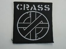 CRASS PUNK ROCK WOVEN PATCH