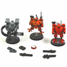 TAU EMPIRE 3 XV8 Crisis Battlesuit Team #3 Warhammer 40K