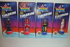 Lotto 4 TIMBRINI VOLTRON TIMBRI NUOVI IN BLISTER 1984