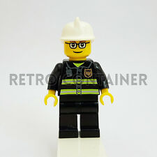 LEGO Minifigures - 1x cty164 - Fireman - Pompiere Omino Minifig Set 7206