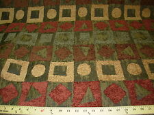 ~8 YDS~MODERN RETRO EAMES ERA~PT CHENILLE~UPHOLSTERY FABRIC~FABRIC FOR LESS~