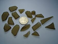 Assorted Surf Tumbled Sea Glass Lot 3307