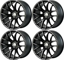 "19"" Miro Type 111 Wheels For Camry Acura TL 2009 - 2014 19X8.5"" Black Rims Set"