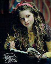 Jessie CAVE SIGNED Autograph 10x8 Photo B AFTAL COA Harry Potter Lavender Brown