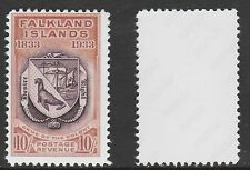 Falklands (706) 1933 Centenary Coat of Arms 10s -  a Maryland FORGERY unused