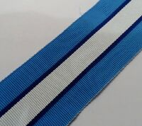 UN Cyprus Full Size Medal Ribbon, Army, Military, Various Lengths, United Nation