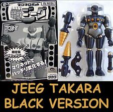 Jeeg Robot New Takara Black Version Micronauti Soul of Chogokin Micronauts