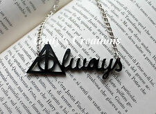 Collana ALWAYS scritta Always da I Doni della Morte di HARRY POTTER Piton