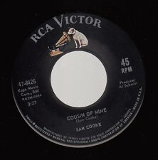 Soul 45 SAM COOKE Cousin Of Mine / That's Where Its At on RCA Victor